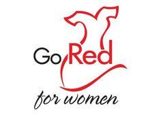 Aha red dress logo