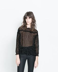 Image 1 of LOW BACK TOP from Zara
