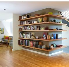 Trendy Home Living Room Design Shelves Ideas Small Space Interior Design, Interior Design Living Room, Interior Livingroom, Room Interior, Modern Interior, Home Living Room, Living Room Decor, Bedroom Decor, Decor Room