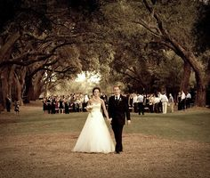 Charlestown landing wedding ceremony. Wedding design by The Graceful Host. Charleston, SC.