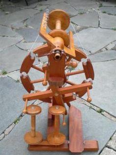 Spinnrad von der Drechslerei Dammann in Heidenheim an der Brenz