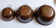 VTG San Ling Taiwan ROC Set of 3 Copper Hanging Nesting Mixing Bowl set | eBay