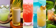 8 Refreshing Aguas Frescas Recipes from The Latin Kitchen--Auga is the best! It's not just water! Had it all the time on my LDS mission in Oklahoma, Spanish-speaking Fresca Drinks, Vodka Cocktails, Easy Cocktails, Fruit Drinks, Yummy Drinks, Beverages, Cocktail Drinks, Healthy Drinks, Cold Drinks