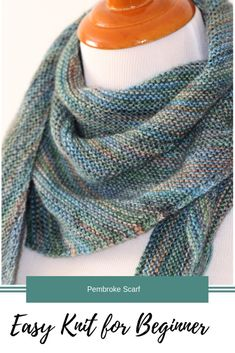 This Easy Knit For A Beginner Is Perfect For Tv & dieser einfache strick für anfänger ist perfekt für fernseher & & ce tricot facile pour un débutant est parfait pour la télévision & este tejido fácil para un principiante es perfecto para la televisión Easy Scarf Knitting Patterns, Loom Knitting, Knitting Stitches, Free Knitting, Start Knitting, Poncho Patterns, Knitting Scarves, Knitting Ideas, Baby Knitting