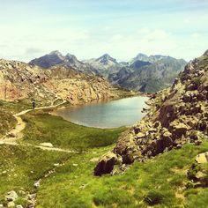Col du Peyreget, vue sur Lurien, Palas & Balaitous