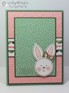 If you haven't checked out the Friends & Flowers stamp set from the Stampin' Up! Occasions Catalog...you need to peek at page 46. It's so cute and it coordinates withthe Festive Flower Builde...