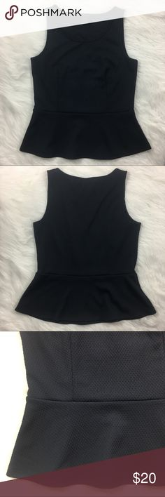 Ann Taylor Peplum Top Super cute peplum top from Ann Taylor. Gently worn and perfect to add sophistication to a summer outfit. Ann Taylor Tops Blouses