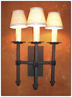 wrought iron sconce 023