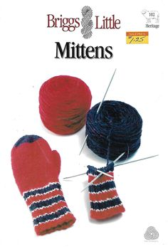 Briggs & Little 102 Mittens For The Whole Family in Weight Yarn Mittens Pattern, Scarves, Winter Hats, Crochet Hats, Purses, Accessories, Scarfs, Knitting Hats, Handbags
