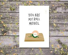 Fathers Day Puns, Funny Mothers Day, Fathers Day Cards, Funny Cards, Cute Cards, Sushi Puns, Father's Day Printable, Cute Puns, Pun Card