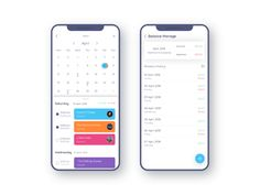 Schedule Management App Concept_White