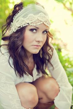 lace headpiece