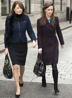 No need to share: The other difference in the bags is the mock crocodile skin effect on Pippa's version