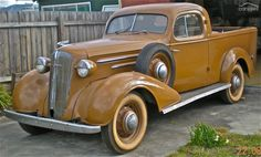 1936 Holdens body Chev Master Deluxe Coupe Ute  .