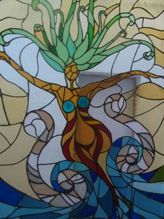 mosaik. Becca not sure if this is a mermaid or not lol