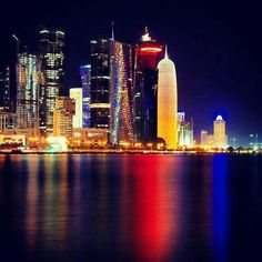 Qatar - fascinating architecture.