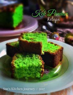 Pandan Cake, Resep Cake, Vegan Junk Food, Snacks Dishes, Vegan Sushi, Vegan Baby, Banana Coconut, Vegan Smoothies, Vegan Sweets