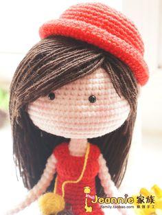 [Jeannie Family - Original Hand] super fine handmade Crochet personalized custom gift - buyers show - Taobao