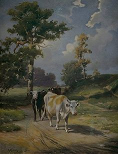 When the Cows Come Home : H. Musson [pseud. R.A. Fox] Art Print by Archival Reprint Company, http://www.amazon.com/dp/B071912T34/ref=cm_sw_r_pi_dp_x_phNEzbAFEDWM7