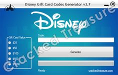 Cracked Treasure is a brand new website which will give you the opportunity to get free Gift Cards. By having a Gift Card you will be given the opportunity to purchase games and other apps from online stores. Disney Gift Card, Generators, Free Gift Cards, Free Stuff, Opportunity, Coding, How To Get, Places, Gifts