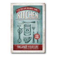 Kitchen Canvas Wall Art - 12W x 18H in. - WEB-P114
