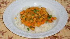 Menu Criativo: Curry de Grão de Bico