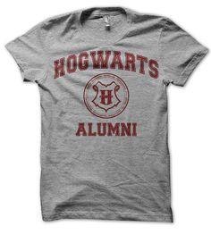 Hogwarts Alumni Parody Shirt Harry Potter Inspired by SunDogShirts, $12.95