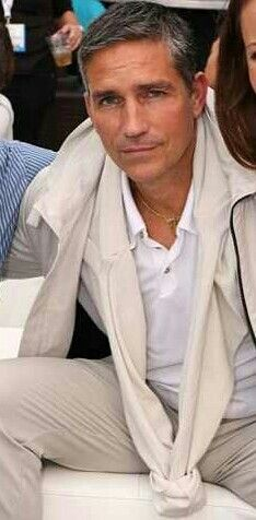 Jim Caviezel CCSD 2013 WB Party  Thank you to whoever cropped this!