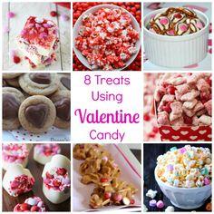 treats using Valentine candy