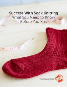 Success With Sock Knitting - A Free Craftsy Guide