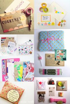 DIY snail mail: Wonderful DIY envelope and packages deco ideas! / www.nadiavdmescht.co.za