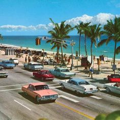 Fort Lauderdale I was there in and this was just a dream. As I recall, there was just one block of tourist shops. Clearwater Florida, Sarasota Florida, Old Florida, Vintage Florida, Florida Travel, Florida Beaches, South Florida, Kissimmee Florida, Florida Maps