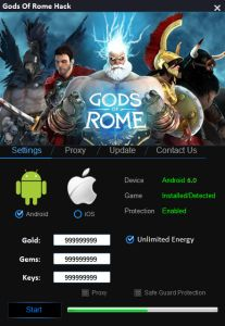 Gods of Rome Hack It works very simply. You do not need computer knowledge to use it. Just download it and ready to enter data. Relax, Below is a little more detailed instructions.    DOWNLOAD: http://mobile-games-hack.com/gods-of-rome-hack/