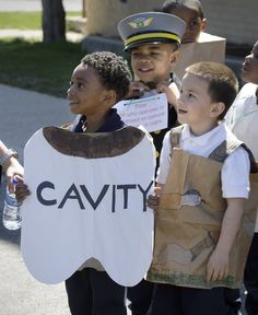 The word is CAVITY for this Vocabulary Parade. More ideas at debrafrasier.com. #vocabulary parade, #halloween costume.