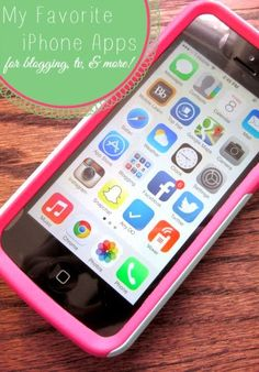 My Favorite iPhone Apps