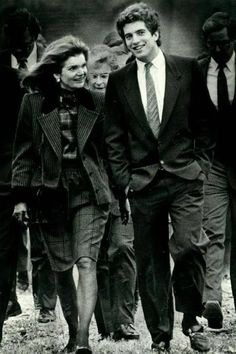 Jackie and JFK Jr. www.pinkpillbox.com