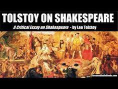 TOLSTOY ON SHAKESPEARE - FULL AudioBook | Greatest AudioBooks - YouTube