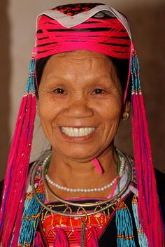 Dao Thanh Y tribal woman
