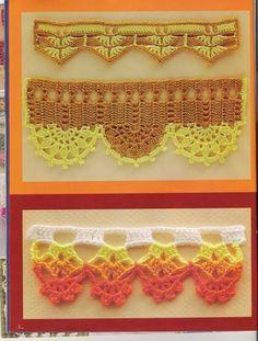 *•♫♪*Bordes de crochet-2*•♫♪* http://manualidadesamigas.foroargentina.net/