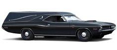 1970 Dodge Challenger Hearse