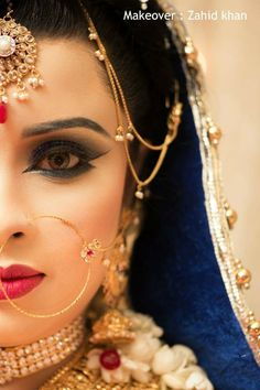 Bangladeshi bride#reception look#zahid khan makeover
