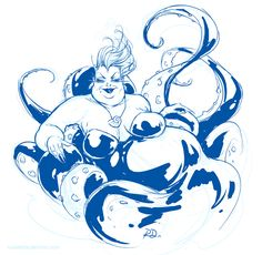 Ursula sketch by Russell Dauterman