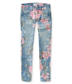Kids' Faded Floral Jegging - PS From Aeropostale