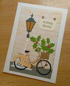 Nollaig Shona agus Athbhliain faoi Mhaise Daoibh Duit; Irish Language Christmas Card - SEE DESCRIPTION; Cárta Nollag as Gaeilge; by CraftyCardsAOR on Etsy