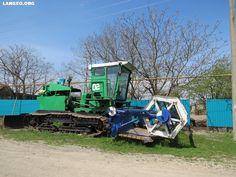 LANGEO.ORG: Жатка самоходная рисоуборочная. Rice mower.