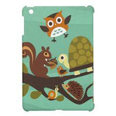 forest friends iPad mini cover