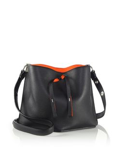 Leather Crossbody Bag by MAISON MARGIELA | Spring - Free Shipping. On Everything