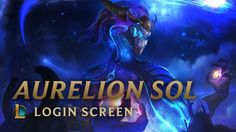 The Aurelion Sol login music was amazing! https://www.youtube.com/watch?v=ApCoJeatwac #games #LeagueOfLegends #esports #lol #riot #Worlds #gaming