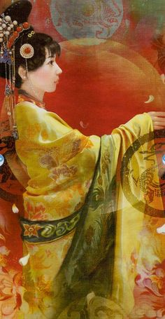 The World - China Tarot - your body is whole, your spirit dances, your soul knows what to do.
