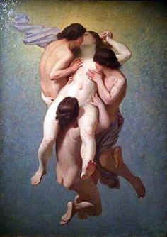 La mujer condenada, 1859 por Octavio Tassaert.